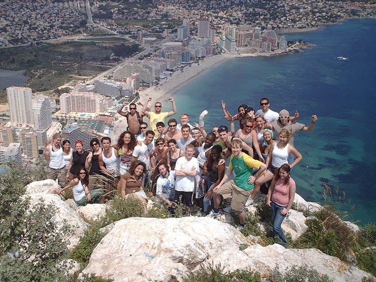Le camp en été pour les adolescents à Valencia