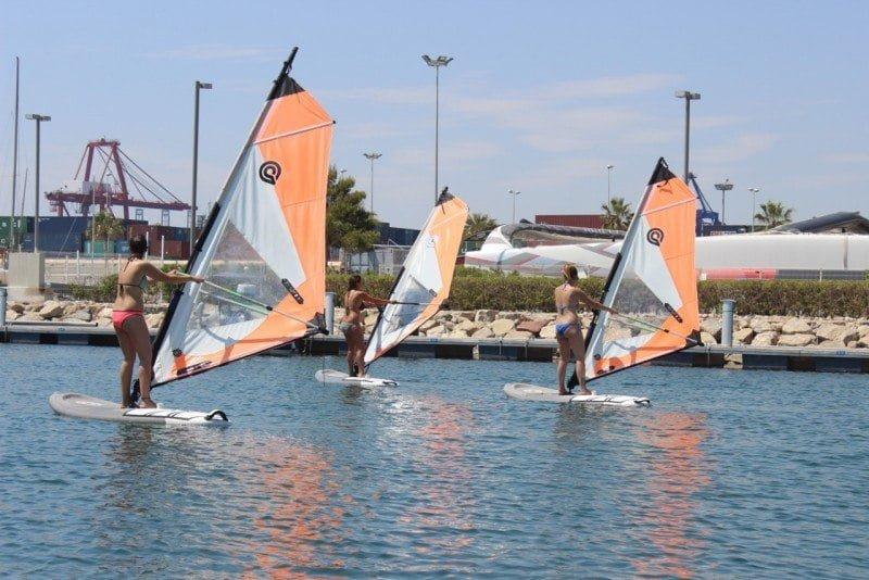 Cursos Intensivos de Español en Valencia + curso de Vela, Windsurf y Stand Up Paddle 0